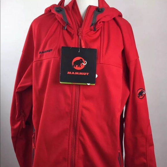 Bestbewertet echt schöner Stil fairer Preis Mammut Ultimate Hoody coat Inferno Red Men's L NWT